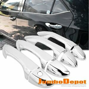 8Pcs Chrome Side Door Handle Cover Trim Fit for 2014-2017 Toyota Corolla