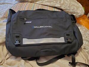 NWT PATAGONIA Half Mass Messenger Laptop Shoulder Bag Black Branded