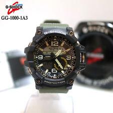 Casio G-shock mudmaster Analógico Digital Reloj para hombres gemelo Sensor Verde GG-1000-1A3