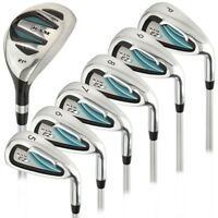 Ram Golf EZ3 Ladies Petite Right Hand Iron Set 5-6-7-8-9-PW - HYBRID INCLUDED