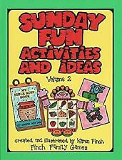 Sunday Fun Activities and Ideas Hardcover Karen Finch