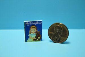 Dollhouse Miniature Detailed Replica My Teddy Bear by Little Golden Book B001