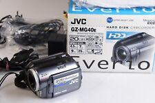 JVC Everio GZ MG 40 E HD caméscope
