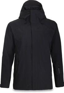 New Dakine Men's Meridian Shell Snowboard Jacket Large Black