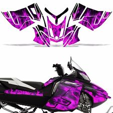 Rev XR Decal Graphic Kit Ski Doo Skidoo Sled Snowmobile Wrap Summit 13+ ICE PINK