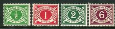 IRELAND-1925 Postage Due.  A lightly mounted mint example Sg D1-4