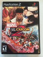 Marvel vs. Capcom 2 - Playstation 2 - Replacement Case - No Game