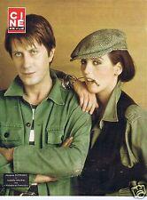 Coupure de presse Clipping 1977 Poster Jacques Dutronc & Isabelle Adjani 26 x 33