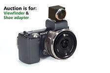 Viewfinder Finder SEL16F Sony 16mm Lens FDASV1 Sony NEX 3 C3 5 5N 5R F3 Camera