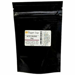 Acid Blend 50g Resealable Pack/Pouch -  For Making Country Wines & Cordials