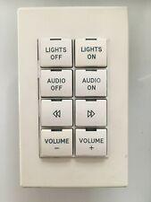 Crestron CNX-BF8W 8 Button Keypad