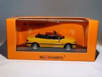 Peugeot 306 cabriolet de 1998  au 1/43 de Minichamps / Maxichamps