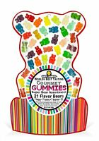 Happy Yummies Worlds Best Tasting Gourmet Gummy Candy 21 Flavor Super Bear