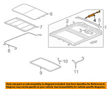 GM OEM Sunroof-Guide 88979948