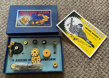 Vintage Meccano Gears Outfit A - In Original box With Instructions