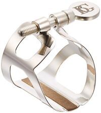 BG Tradition Ligature with Cap for Bb Clarinet in Silver Plate