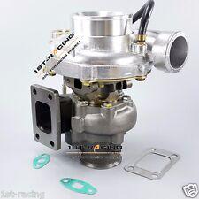 WGT35 gt35 Turbine A/R.63 Comp AR.70 oil v band internal-wastegate Turbo charger
