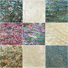 Abalone MOP Shiny Painted Veneer Adhesive Sheet Cutline Flexible/Normal 2 Types