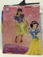Snow White Costume Dress Dressup Cameo Disguise Disney Princess Girl 7 8 New