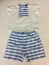 Armani Baby Outfit Set Shorts And Top Size 74cm Age 12 Months VGC