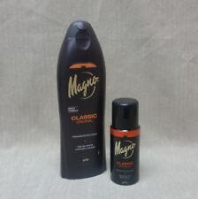 Magno Classic Shower Gel 18.5 oz by La Toja with Deodorant Spray 5 oz - Set