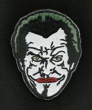 The JOKER Jack Nicholson BATMAN Tactical HOOK Morale Badge Military Patch