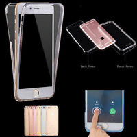 Shockproof 360° Silicone Protective Clear Case Cover For iPhone 6 7 7 Plus KY