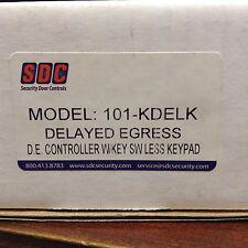 Security Door Controls 101-KDELK Delayed Egress Controller W/Key SW Less Keypad