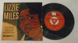 Lizzie Miles And Her New Orleans Boys.Rare 1955 Blues EP.Melodisc,EPM 7-55. Ex