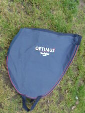 Large canvas saddle bag with zip by Optimus