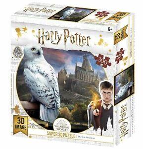Harry Potter Hedwig 300 Piece 3D-Look jigsaw puzzle (kc)