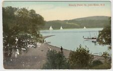 Brandy Point, St. John River NB New Brunswick Unused Postcard