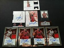 TERRENCE ROSS 2012-13 NATIONAL TREASURE ROOKIE AUTO PATCH LOT (8) GOLD AUTOGRAPH