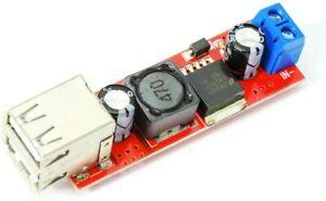 Dual 5V USB DC 7V-24V nach 5V, 3A Step Down Spannungswandler für Arduino