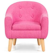 Toddler Children Kids Single Sofa Leisure Armrest Chair Furniture Cute Gift Pink