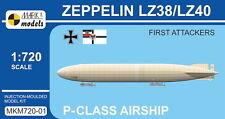 """MARK I modelli 1/720 ZEPPELIN P-Class LZ38/LZ40 """"primo aggressori'S # 720-01"""