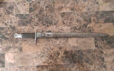 Argentine Mauser M1909 Bayonet with Scabbard-matching numbers