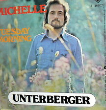 """UNTERBERGER MICHELLE  7"""" RARE PS  ITALY 1976 - TUESDAY MORNING"""