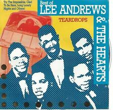 CD album LEE ANDREWS & THE HEARTS - TEARDROPS rhythm & blues / doo wop