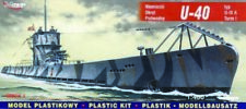 Mirage Hobby 40045 - 1:400 submarino alemán u 40 tipo IX a torre I