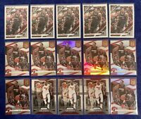 2019-20 Bam Adebayo Lot of 15 Cards Panini Prizm Optic Elite Invest Heat 🔥