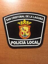 PATCH POLICE SPAIN - CANARY ISLANDS - SAN CRISTOBAL DE LA LAGUNA - ORIGINAL!