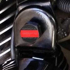 RED LINE FIREFIGHTER 094 2 Silver Billet Aluminum Knurled Tire Valve Cap