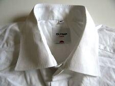 21118d6078aa Gestreifte klassische Kurzarm Herrenhemden aus Baumwolle Olymp ...