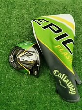 Callaway Epic Flash Driver Head Only 9° With Headcover