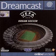 Sega Dreamcast Game-UEFA Dream Soccer (with original packaging/without instructions) (case Broken)