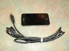 APPLE iPHONE 4S Phone Cell Smart Unlocked Clean IMEI EMC 2430 Black NICE