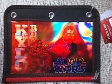 Disney Star Wars Kylo Ren Holographic Pencil Pouch Case 3 Ring Binder Zipper