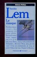 Stanislas LEM Le masque Pocket SF 5294 1988 couverture & encart SIUDMAK