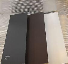 Stahlblech verzinkt  farbig beschichtet,  200 cm lang, breite nach Variante.